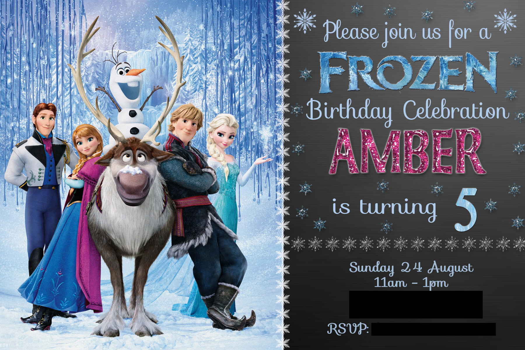 Etsy Frozen Invites - Free Printable Invitation Design Ideas by Adeh ...