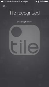 Tile Recognized