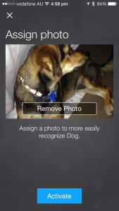 Add an item photo