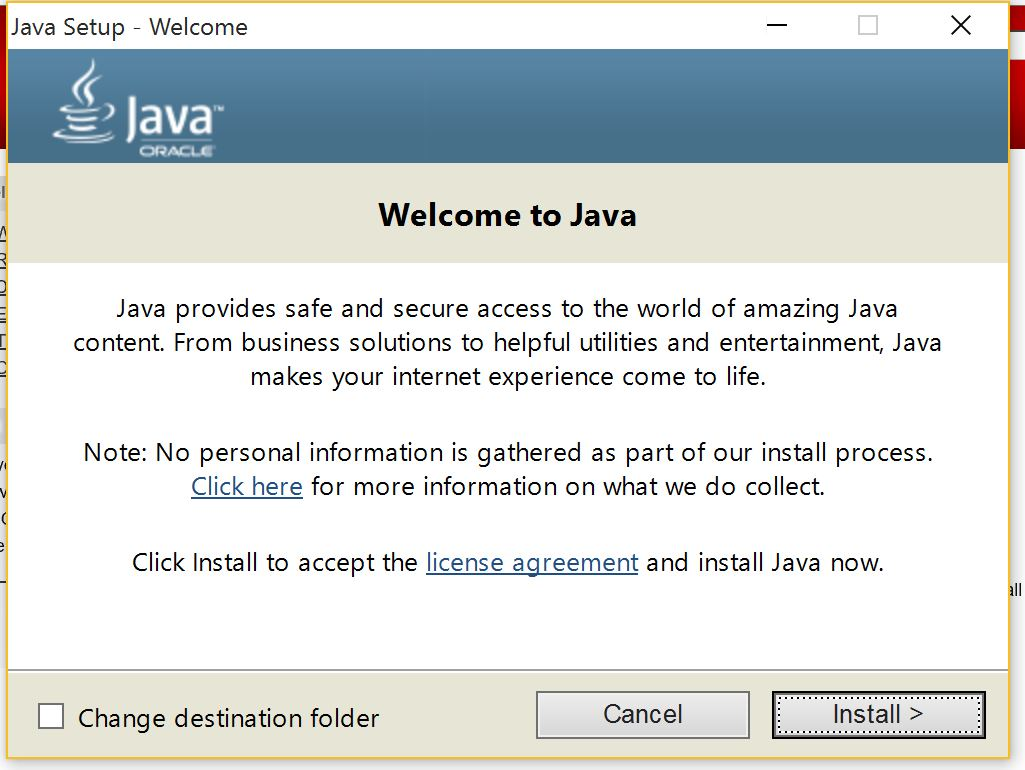 How To Update Java In Win 10 How to update Java version on